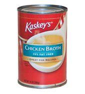 "Kaskey's<font class=""trade-mark"">®</font> Chicken Broth 99% Fat Free, 14.5oz"