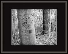 PIN IT TO WIN IT! Love Tree 8x10 Inch Matted Personalized by PictureItPersonal, $34.00  Pin to enter a drawing for FREE personalized 8x10 photo of your choice!
