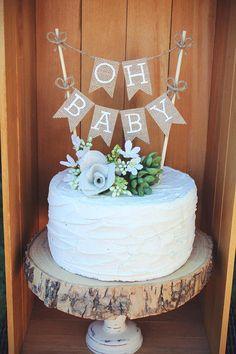 Oh Baby Cake Topper, Baby Cake Topper, Baby Shower Cake Topper, Oh Baby Burlap Cake Topper, gender reveal cake topper, Burlap Baby Shower