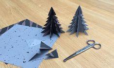 Lav de fineste juletræer af smukt papir.