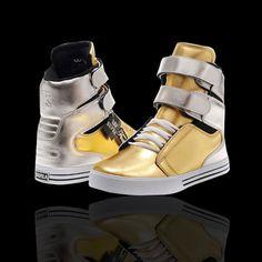 supra cheap high tops,Women Supra TK Society Shoes (Gold / Silver ...