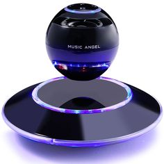 MUSIC ANGEL Levitating Portable Wireless Bluetooth Speakers Multicolor LED Floating Levitation Speaker with Microphone for iphone ipad: Electronics Cool Tech Gadgets, New Gadgets, Gadgets And Gizmos, Electronics Gadgets, Kids Gadgets, Camping Gadgets, Kitchen Gadgets, New Technology Gadgets, Futuristic Technology