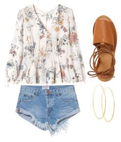 Bali Summer 2016 by caroline-weaver on Polyvore featuring polyvore, fashion, style, Rebecca Taylor, One Teaspoon, Topshop, Lana and clothing