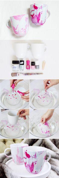 DIY-Anleitung-Tassen-marmorieren-mit-nagellack-DIY-Blog