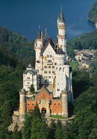 Neuschwannstein, Germany - Disney Castle was build after this!