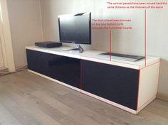 Unnu inspired media bench - IKEA Hackers - IKEA Hackers