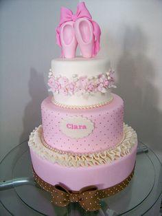 ballerina cake (add ballerina on top instead)