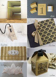 21 Amazing Art Deco Wedding Ideas for 1920′s Great Gatsby feel from http://emmalinebride.com/themes/art-deco-wedding-ideas/