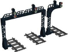 Railway Signal Bridges: A LEGO® creation by Murdoch 17 : MOCpages.com