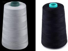 Bílé nebo černé nitě pro domácí i profesionální šití Convenience Store, Dark Around Eyes, Convinience Store