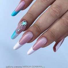 Posh Nails, Fancy Nails, My Nails, Amber Hair, French Nail Art, Modern Nails, Nailart, Finger, Almond Nails