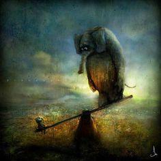 Alexander Jansson: Elefant https://www.facebook.com/Alexander.Jansson.art/