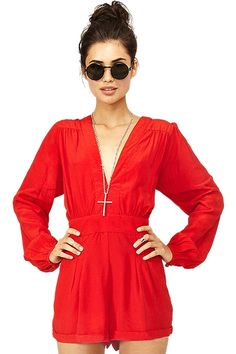 red hot jumpsuit #valentinesday