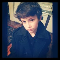 My Devin.. Future Sherlock. :)