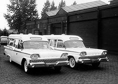 1959 Ford Country Sedan Ambulance