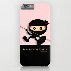 Ninja Be As You Wish To Seen Socrates by Mailboxdisco    Phone Cases / Slim Case