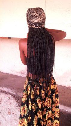 African Hair Braiding: Long Box Braids for Summer # Braids africanas con hilo Box Braids Updo, Blonde Box Braids, Yarn Braids, Braids For Black Hair, Twist Braids, Fishtail Braids, Long Braids, Twists, Micro Braids