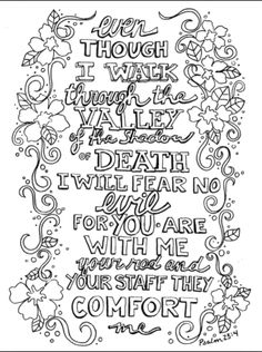 Todays Doodle In A Black And White Version You Can Print Color Here Is Another Representation Of This Same Verse