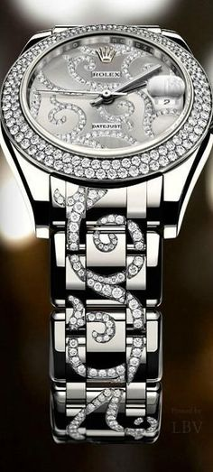 Diamond Watches Ideas : Rolex ♥✤Ladies Special Edition Datejust - Don't be tricked when buying fine . - Watches Topia - Watches: Best Lists, Trends & the Latest Styles Stylish Watches, Luxury Watches, Cool Watches, Casual Watches, Expensive Watches, Affordable Watches, Rolex Gmt, Rolex Datejust, Beautiful Watches