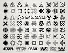 Celtic Knots & Ornaments Vector Pack by Seaquint on @creativemarket