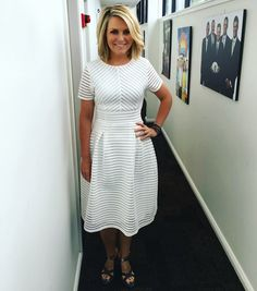 Image result for Georgie gardner Hair Dos, Looking Gorgeous, Hair Beauty, Short Sleeve Dresses, Shirt Dress, Hair Styles, Pretty, Instagram Posts, Shirts