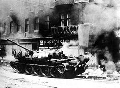 Warsaw Pact invasion of Czechoslovakia, 21.8.1968
