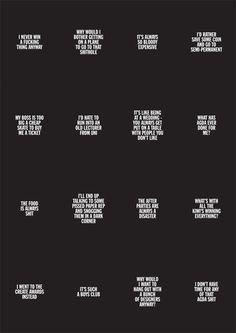 Tongue in cheek campaign for AGDA's Australian Design Biennale 2012