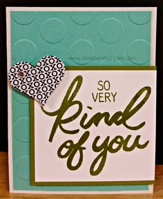 Loving the NEW Stampin' Up! Occasions Catalog!
