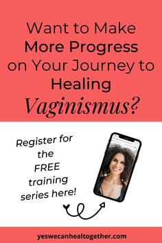 Need more support on your vaginismus healing journey? It's important to remain consistent with your efforts when working on overcoming vaginismus. This FREE live Journey to Healing series will be sent straight to your inbox to help you deal with difficult emotions, react to pin differently, relax through pelvic floor exercises, and use a dilator successfully. Register here to get motivated to heal your vaginismus! Womens Health Tips | Female Health Tips | Feminine Health Tips #vaginismus Health Advice, Health Quotes, Wellness Tips, Health And Wellness, Womens Health Care, Pelvic Floor Exercises, Womens Health Magazine, Emotional Healing, Coping Skills