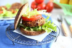 Angie's Recipes . Taste Of Home: Linseed Sweet Potato Burgers