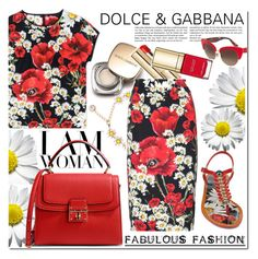 Untitled #470 by zhris on Polyvore featuring polyvore fashion style Dolce&Gabbana clothing