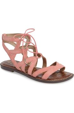 1a450c7fb27 Sam Edelman Gemma Lace-Up Sandal (Women)
