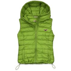 Hollister Co Daley Ranch Vest ($35) found on Polyvore