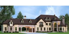 Lady Rose House Plan - ArchivalDesigns.com Luxury Floor Plans, Luxury House Plans, Castle Floor Plan, House Floor Plans, House Tent, Rose House, Luxury Flooring, Small Cottages, Mansions Homes