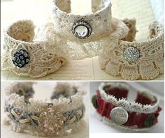 Very nice cuffs. A great way to utilize cuff blanks.