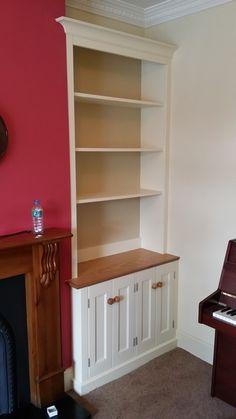 Portfolio - The Alcove Man Alcove Bookshelves, Built In Shelves Living Room, Bookcase, Family Room, Lounge, Interior Design, Cabinets, Design Ideas, Decorating