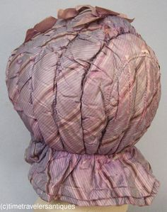 Quilted WInter Bonnet