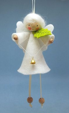 Felt angel decoration White angel ornament Christmas angel decoration White angel Christmas decoration MADE TO ORDER Christmas Angel Decorations, Christmas Crafts For Adults, Felt Christmas Ornaments, Christmas Tree Toppers, Christmas Angels, Handmade Christmas, Christmas Diy, Crochet Christmas, Diy Arts And Crafts