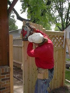 How to Build a Wooden Gate Professionally Building A Wooden Gate, Building A Fence, Wooden Gates, Wooden Fence, Driveway Gate, Fence Gate, Fence Panels, Garden Gates And Fencing, Garden Doors