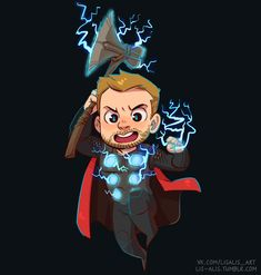 enough spoilers, look at this little Thor I just made