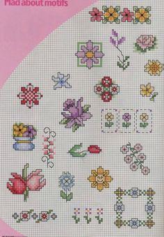 Gallery.ru / Fotoğraf # 135 - Mini_vyshivki çiçek - svjuly