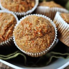 Healthy Applesauce Carrot Muffins Recipe - ZipList