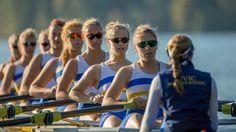 UVIC Viking women's rowing team