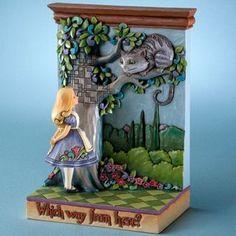 Jim Shore Alice in Wonderland figurine