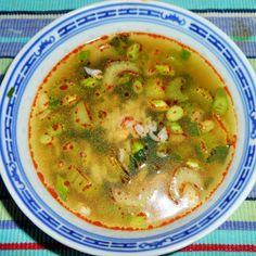 Thaise Rijstsoep Cheeseburger Chowder, Soup Recipes, Ethnic Recipes, Food, Meals, Yemek, Eten