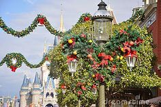 Main Street Disney Christmas Decor