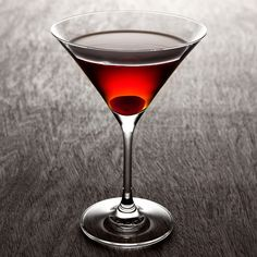 #Bourbon #Manhattan #Cocktail #Recipe - 1000 Cocktails