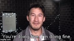 Aw now don't cry ; *hugs Mark* it's okay, ssshhh Pewdiepie, Markiplier Memes, Youtube Quotes, Youtube Memes, Mark And Ethan, Jack And Mark, Darkiplier, Septiplier, I Want To Cry