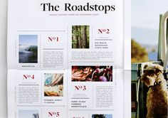 Red Fleece Editorial Newspaper by Stephanie Toole, via Behance #publication #editorial #layout