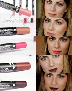GOLDEN ROSE Matte Crayon Lipstick 18 - Szukaj w Google